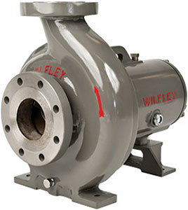 Wilfley Heavy Duty Centrifugal Pumps Model A7 Chemical